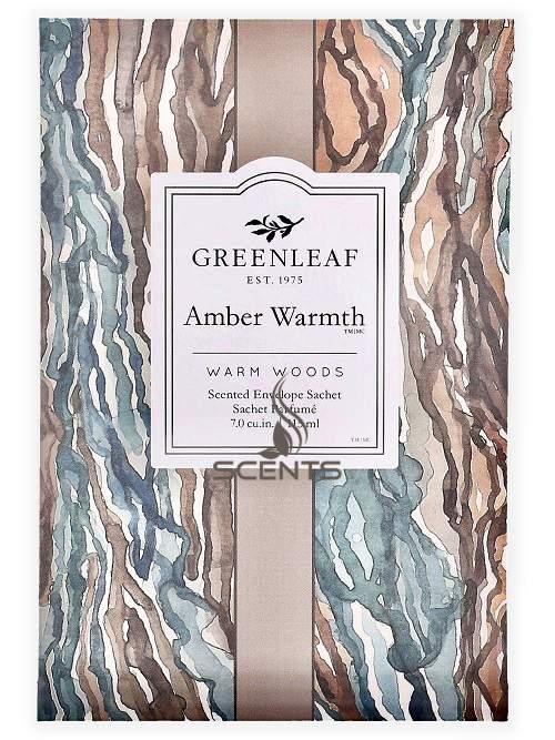 Саше большие Greenleaf Тепло Янтаря Amber Warmth для дома, офиса в ...